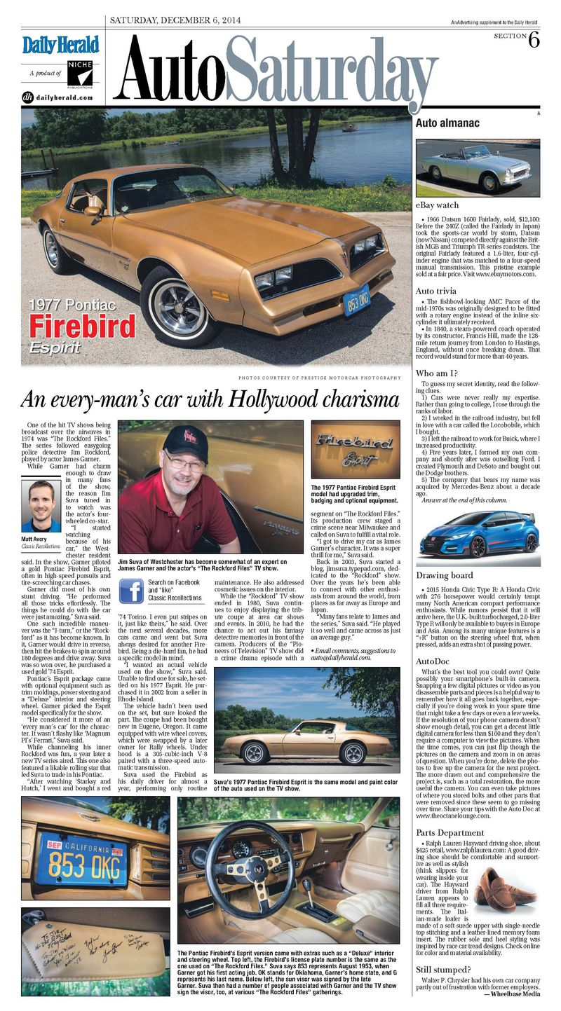 Daily Herald Article - 12-6-14