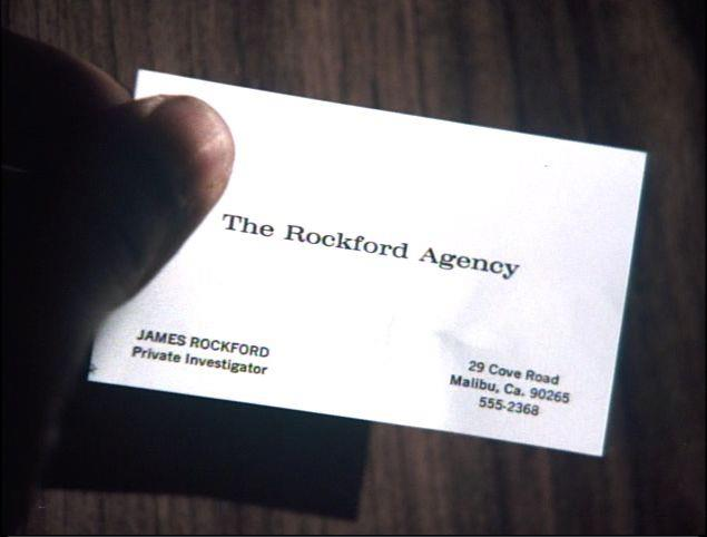 Rockford files business cards jim suva and the suva files blog rockford files business cards colourmoves
