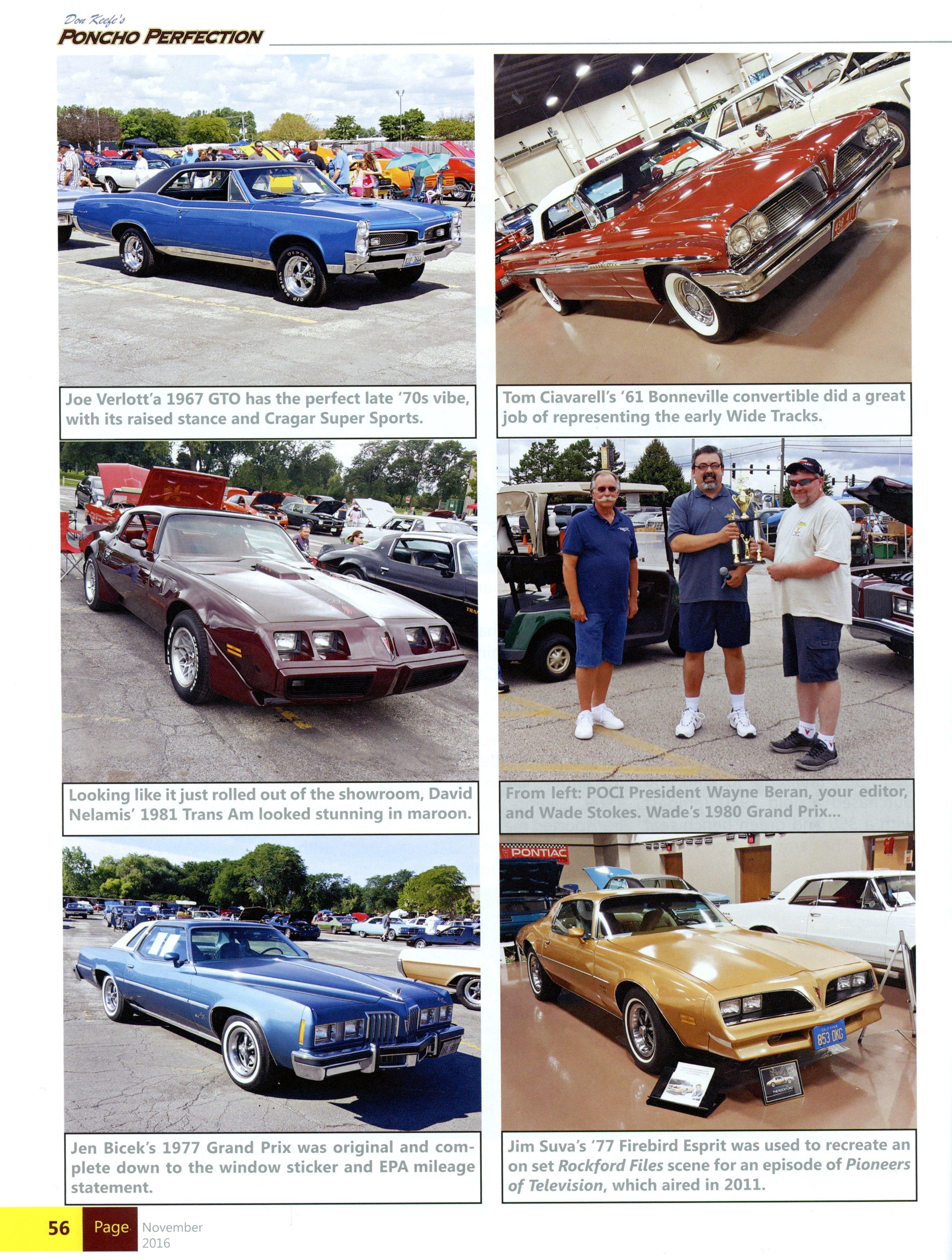 Rockford Firebird in Poncho Perfection Magazine - Jim Suva and The ...